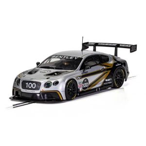 Scalextric C4057A Bentley Continental GT3 – 100 Years of Bentley Ltd. Edition