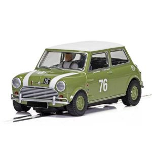 Scalextric C4059 Austin Mini Cooper S No.76 Adam / Swift Goodwood 2018
