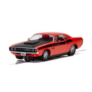 Scalextric C4065 Dodge Challenger Red and Black