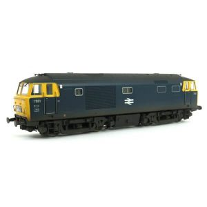 Heljan 3529 Class 35 Hymek D7001 BR Blue with Full Yellow Ends