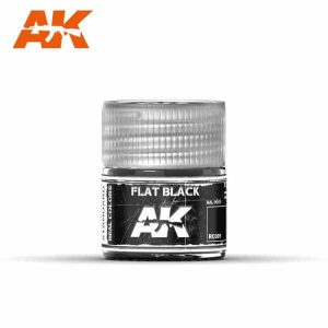 AK Interactive RC001 Flat Black
