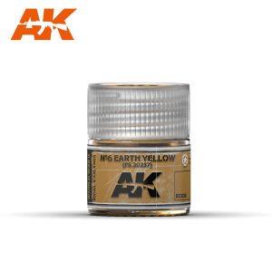 AK Interactive RC030 FS30257 Earth Yellow