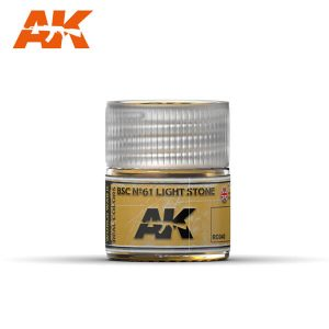 AK Interactive RC040 BSC No.61 Light Stone