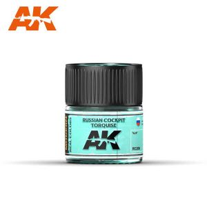 AK Interactive RC206 Russian Cockpit Turquoise