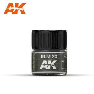 AK Interactive RC274 RLM70 Schwartzgrun