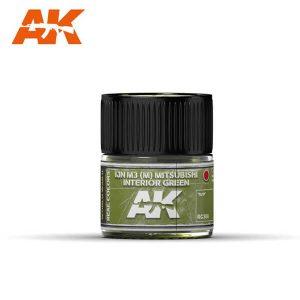 AK Interactive RC306 IJN M3 (M) Mitsubishi Interior Green