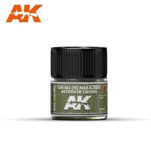 AK Interactive RC307 IJN M3 (N) Nakajima Interior Green