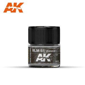 AK Interactive RC323 RLM81 Dunkelbraun / Braunviolett Version 1
