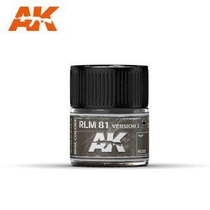 AK Interactive RC325 RLM81 Dunkelbraun / Braunviolett Version 3
