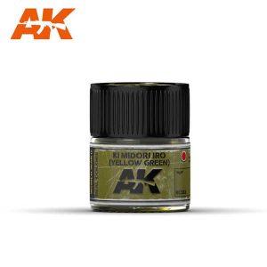 AK Interactive RC333 Ki Midori Iro (Yellow Green)