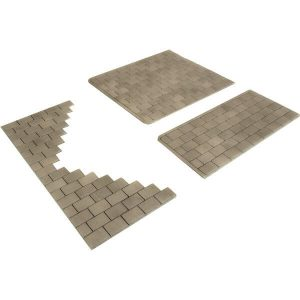 Metcalfe Models PO210 OO/HO Scale Individual Stone Paving Slabs