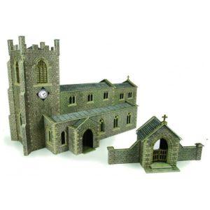 Metcalfe Models PO226 OO/HO Scale Parish Church Kit