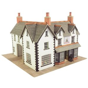 Metcalfe Models PO228 OO/HO Scale Coaching Inn Kit