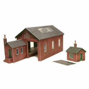 Metcalfe Models PO232 OO/HO Scale Goods Shed Kit