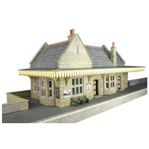 Metcalfe Models PO238 OO/HO Scale Stone Built Wayside Station Kit