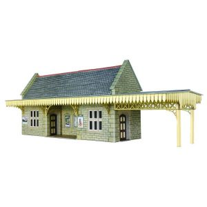 Metcalfe Models PO239 OO/HO Scale Stone Built Wayside Shelter Kit