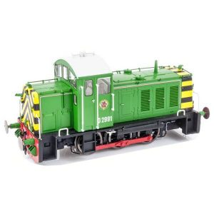 Heljan 2906 Class 07 D2991 BR Eastleigh Works light green