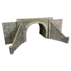 Metcalfe Models PO242 OO/HO Scale Double Track Stone Tunnel Entrances