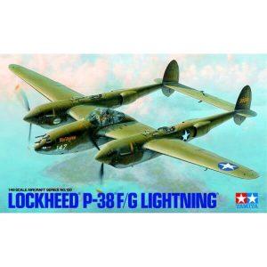 Tamiya 61120 Lockheed P-38 F/G Lightning 1:48