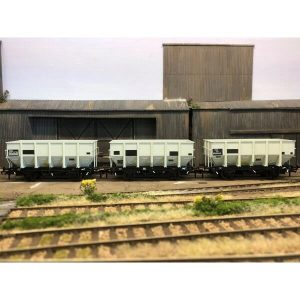 Accurascale ACC1014 HUO 24.5T Coal Hopper BR Grey TOPS Pack H