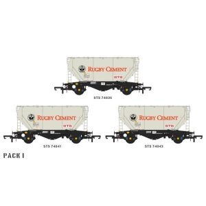 Accurascale ACC2028 PCA Bulk Cement Wagon Rugby Cement Pack I