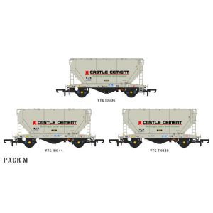 Accurascale ACC2032 PCA Bulk Cement Wagon Castle Cement Pack M