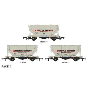 Accurascale ACC2034 PCA Bulk Cement Wagon Castle Cement Pack O
