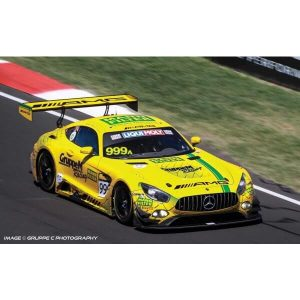 Scalextric C4075 Mercedes AMG GT3 Gruppe M Racing No.999a Bathurst 12 Hours 2019