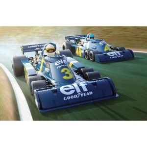 Scalextric C4084A Tyrrell P34 Swedish GP 1976 Twin Pack