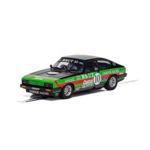 Scalextric C4101 Ford Capri Mk3 Faberge Racing No.10 Stuart Graham British Saloon Car 1978