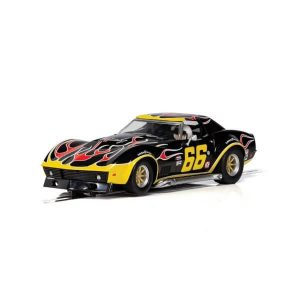 Scalextric C4107 Chevrolet Corvette Stingray No.66 'Flames'
