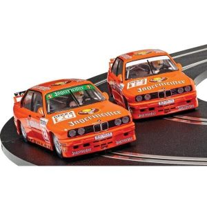 Scalextric C4110A BMW M3 E30 Team Jagermeister Twin Pack