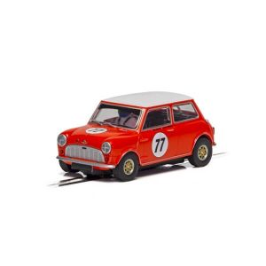 Scalextric C4154 Austin Mini Cooper S No.77 Andrew & Mike Jordan Goodwood 2019