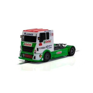 Scalextric C4156 Race Truck Green White & Red