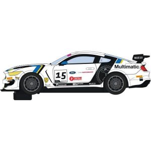 Scalextric C4173 Ford Mustang GT4 Multimatic Motorsports No.15 Maxwell / Priaulx British GT 2019