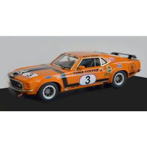 Scalextric C4176 Ford Mustang Boss 302 No.3 Martin Birrane British Saloon Cars 1972