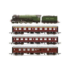 Hornby R3828 Class A1 60103 'Tornado' 'The Aberdonian' Train Pack