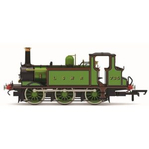 Hornby R3846X Class A1 (Terrier) No. 735 LSWR Green DCC Fitted