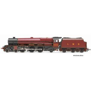 Hornby R3854X Class 8P Princess Royal 6212 'Duchess of Kent' in LMS Crimson DCC Fitted