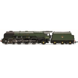 Hornby R3856 Princess Coronation 46257 'City of Salford' BR Green Late Crest
