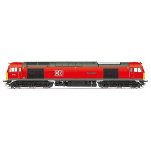 Hornby R3885 Class 60 60062 'Stainless Pioneer' DB Cargo UK