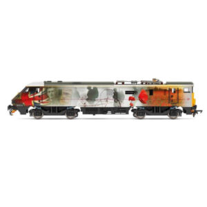 Hornby R3892 Class 91 91111 'For the Fallen' Virgin Trains