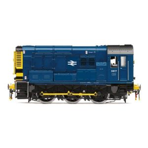 Hornby R3898TTS Class 08 3817 BR Blue DCC Sound Fitted