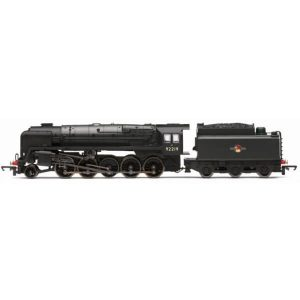 Hornby R3942 Class 9F 92219 BR Black with Late Crest RailRoad Range