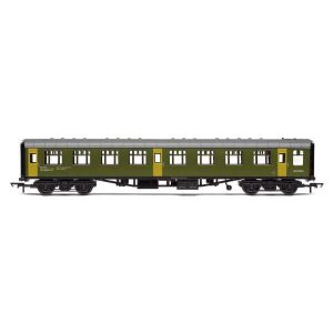 Hornby R40006 Ex-Mk1 SK Ballast Cleaner Train Staff Coach BR Departmental Green