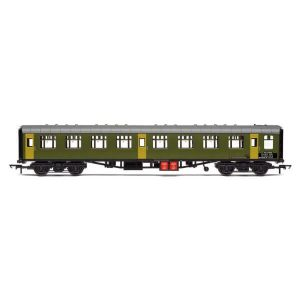 Hornby R40007 Ex-Mk1 SK Ballast Cleaner Train Staff Coach BR Departmental Green