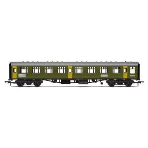 Hornby R40008 Ex-Mk1 SK Ballast Cleaner Train Staff Coach BR Departmental Green