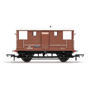 Hornby R6938 SR D1543 24T Goods Brake Van SR Brown