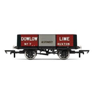 Hornby R6947 5 Plank Wagon Dowlow Lime No.7