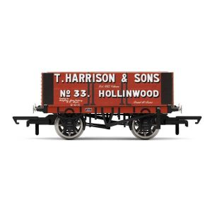 Hornby R6950 6 Plank Wagon H. Harrison & Sons No.33